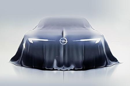 Opel concept car 2018