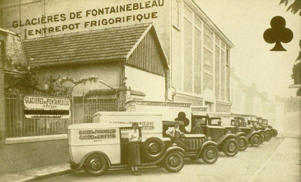Picard Les Glacières de Fontainebleau, 1906